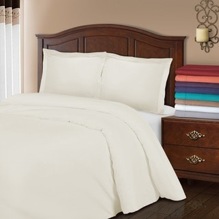 Superior 800 Thread Count Wrinkle Resistant Cotton Blend Duvet Cover Set