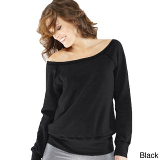 Women's 'Bella' Tri-blend Wide Neck Sweatshirt (More options available)