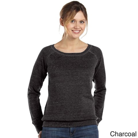 Women's 'Bella' Tri-blend Wide Neck Sweatshirt