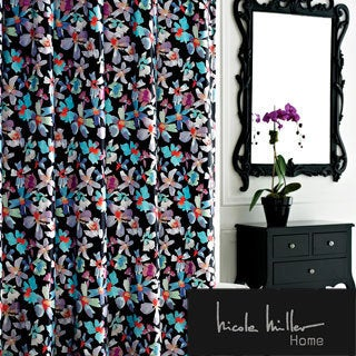 Nicole Miller Watermark Satin Shower Curtain   Free Shipping On Orders Over  $45   Overstock.com   15865559