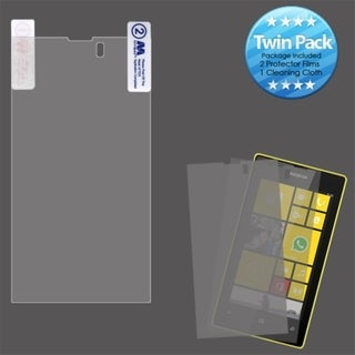INSTEN Clear Screen Protector Twin Pack for Nokia 520 Lumia