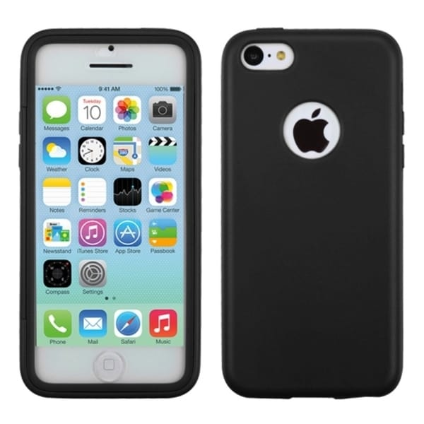 INSTEN Black Candy Skin Phone Case Cover for Apple iPhone 5C