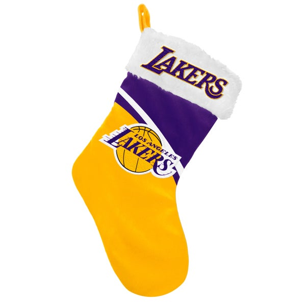 Forever Collectibles NBA Los Angeles Lakers Swoop Logo Stocking