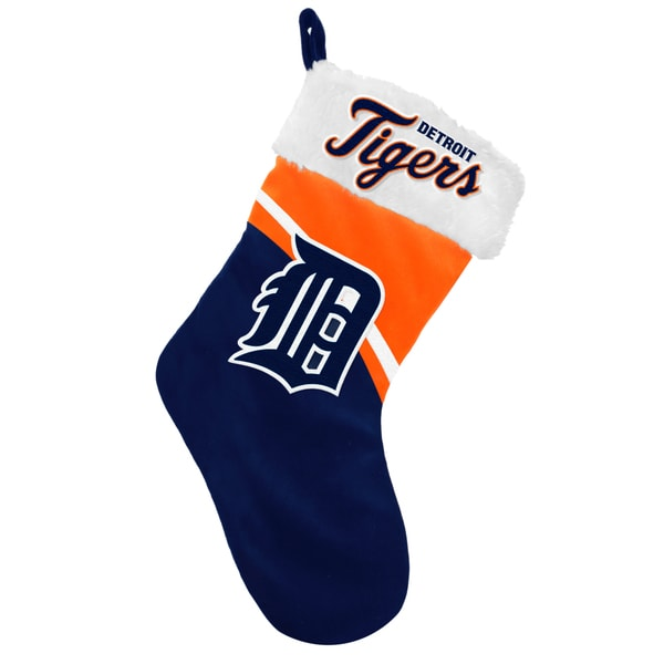 Forever Collectibles MLB Detroit Tigers Swoop Logo Stocking
