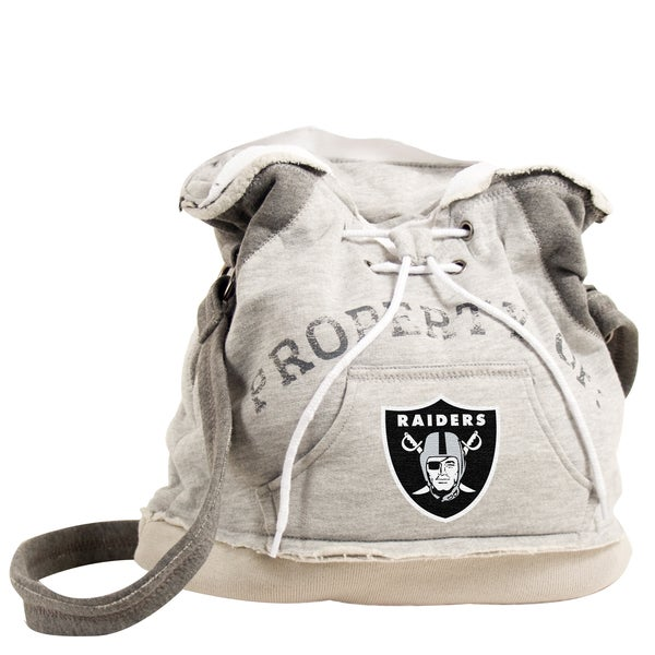 Little Earth NFL Oakland Raiders Hoodie Shoulder Tote