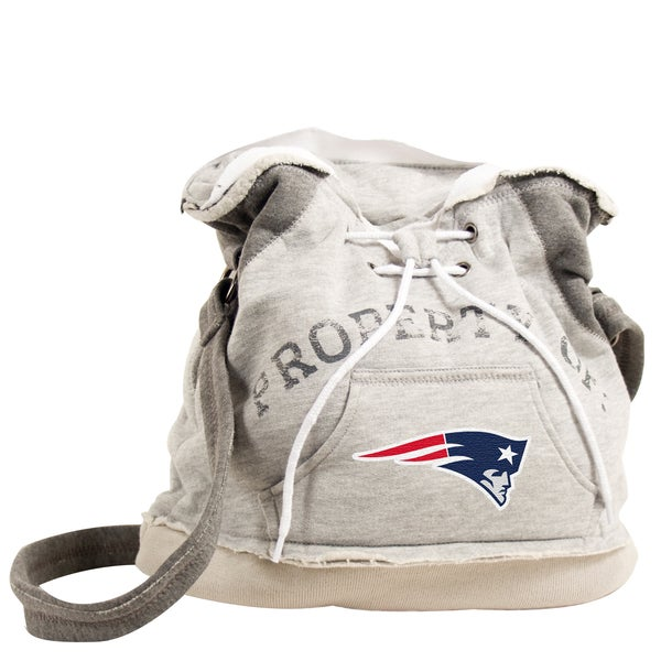 Little Earth NFL New England Patriots Hoodie Shoulder Tote