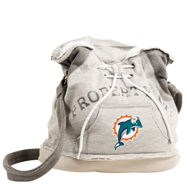 Little Earth NFL Miami Dolphins Hoodie Shoulder Tote