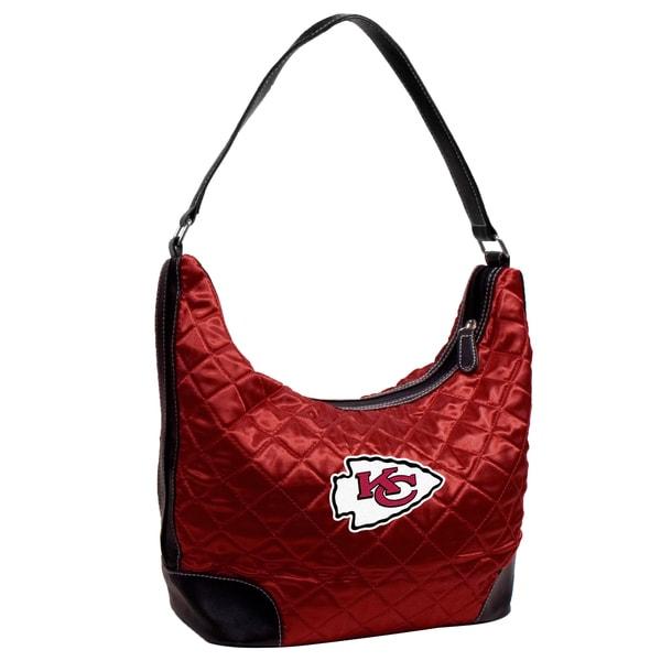 Little Earth NFL Kansas City Chiefs Quilted Hobo Handbag