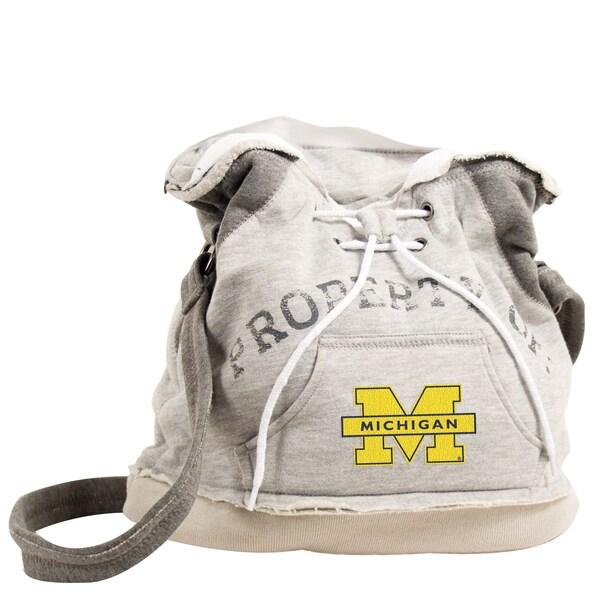 Little Earth NCAA Michigan Wolverines Hoodie Shoulder Tote