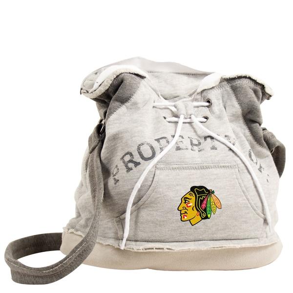 Little Earth NHL Chicago Blackhawks Hoodie Shoulder Tote