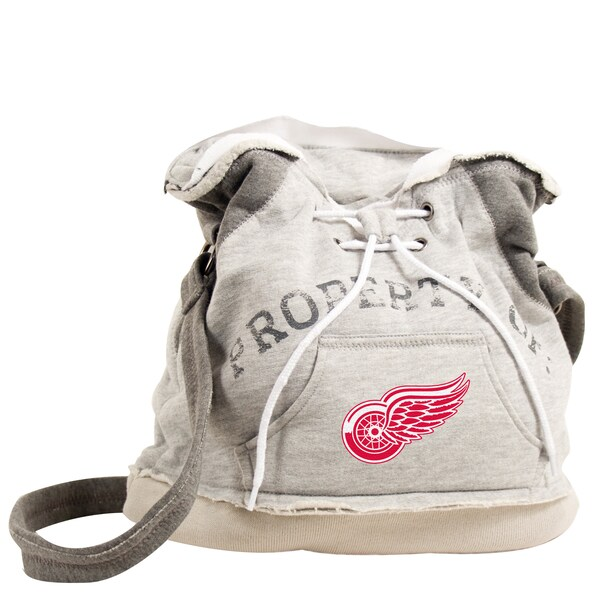 NHL Detroit Redwings Hoodie Shoulder Tote