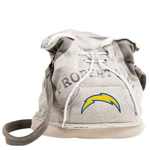 Little Earth NFL San Diego Chargers Hoodie Shoulder Tote