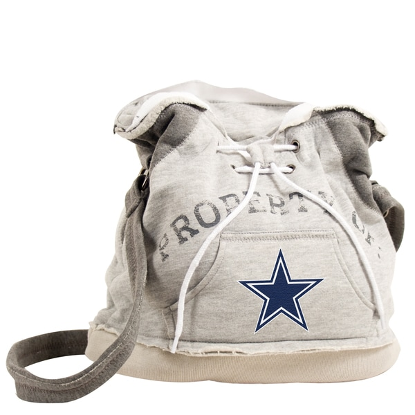 Little Earth NFL Dallas Cowboys Hoodie Shoulder Tote