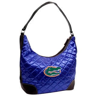 Little Earth NCAA Florida Gators Quilted Hobo Handbag