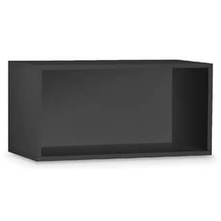 Organize It All Black Storage Open Cube