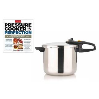 Fagor Duo 10-quart Pressure Cooker with Bonus 'Pressure Cooker Perfection' Cookbook