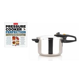 Fagor Duo 6-quart Pressure Cooker with Bonus 'Pressure Cooker Perfection' Cookbook