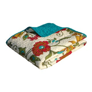 Greenland Home Fashions Clearwater Quilted Throw