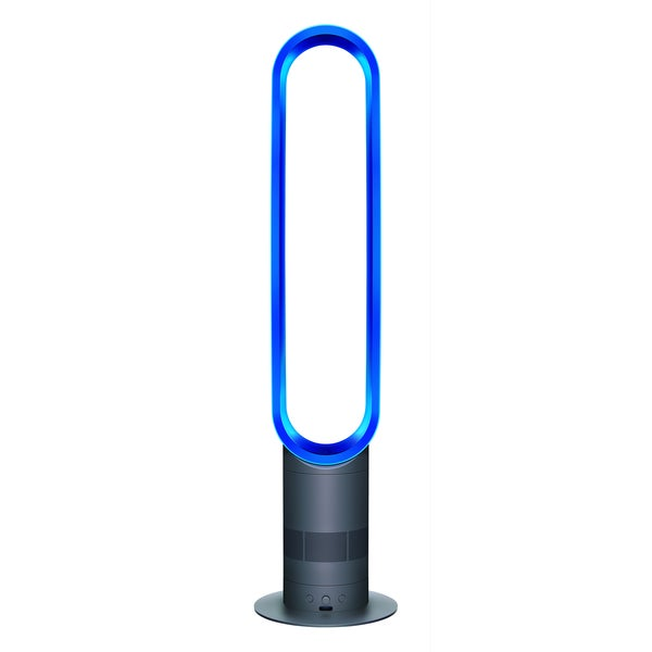 Dyson AM02 Iron/ Blue Air Multiplier Tower Fan (Refurbished)