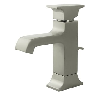 Fontaine Teodoro Brushed Nickel Single Post Bathroom Faucet