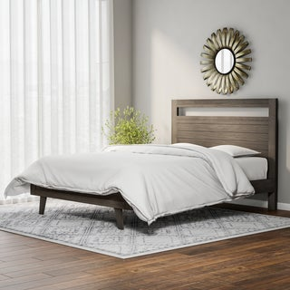 Carson Carrington Madrid Light Charcoal Queen-size Bed