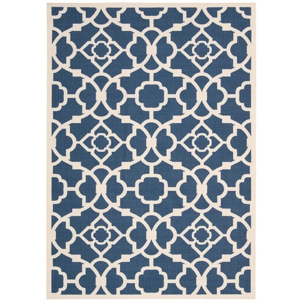 Waverly Sun Nu0027 Shade Lovely Lattice Lapis Indoor/ Outdoor Area Rug By  Nourison (