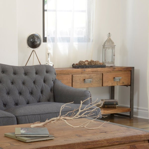 Kosas Home Bailey 3-drawer Console Table
