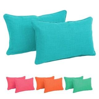 Rectangular Back Support Pillows (Set of 2)