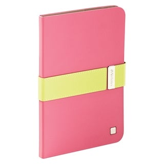 Verbatim Folio Signature Case for iPad mini (1,2,3) - Pink/Lime Green