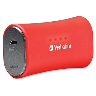 Verbatim Portable Power Pack, 2200mAh - Red