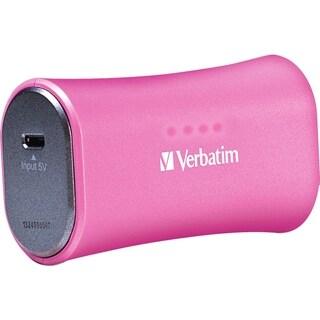 Verbatim Portable Power Pack, 2200mAh - Pink