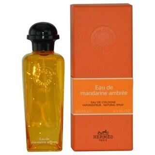 Hermes Eau de Mandarine Ambree 3.3-ounce Eau de Cologne Spray