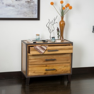El Paso Mahogany Wood Storage Unit by Christopher Knight Home