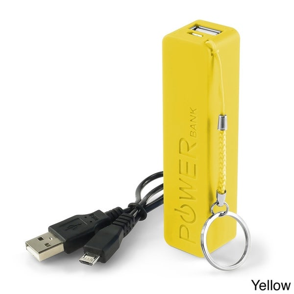 INSTEN USB Power Bank with Cable/ Keychain for Apple iPhone 4/ 4S/5/ 5S/ 6