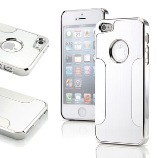 Gearonic Sliver Aluminum Case for Apple iPhone 5 5S