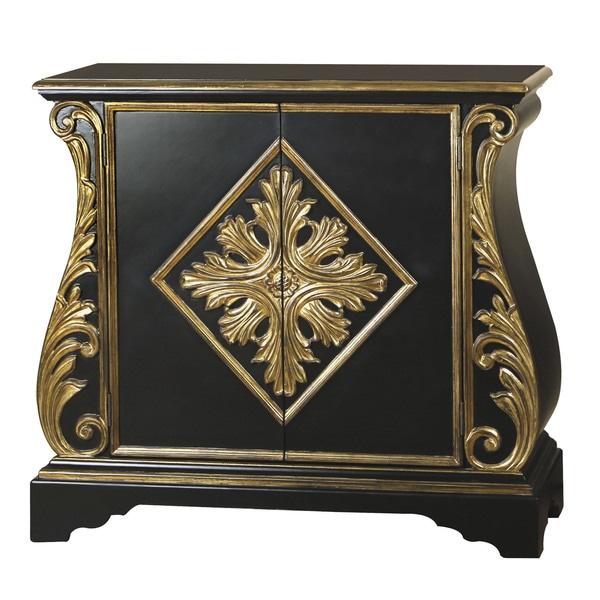 paint small bedroom painted distressed black and gold finish accent chest 12773