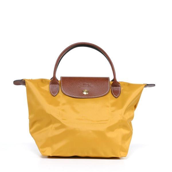 Longchamp 'Le Pliage' Small Sunshine Handbag