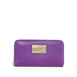 Marc by Marc Jacobs Violet Large Zip around SLG Wallet