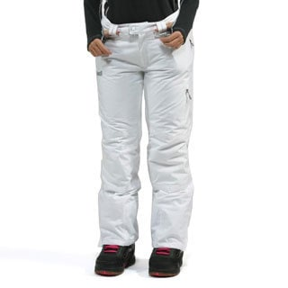 Marker Women's 'Starlight' White Snowboard Pants