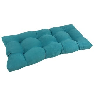 "Blazing Needles 42-Inch Microsuede Indoor Bench Cushion - 42""l x 19""w x 5""h"