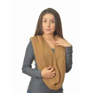 LA77 Women's Knit Circle Scarf