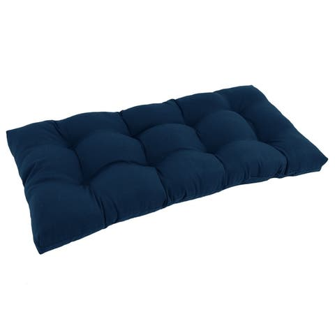 "Blazing Needles 42-inch Solid Indoor Bench Cushion - 19"" x 42"""