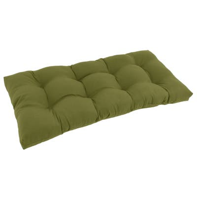 "Blazing Needles 42-inch Solid Indoor Bench Cushion - 19"" x 42"""