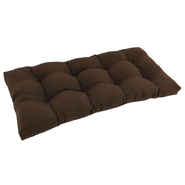 Blazing Needles 42 Inch Solid Tufted Indoor Bench Cushion