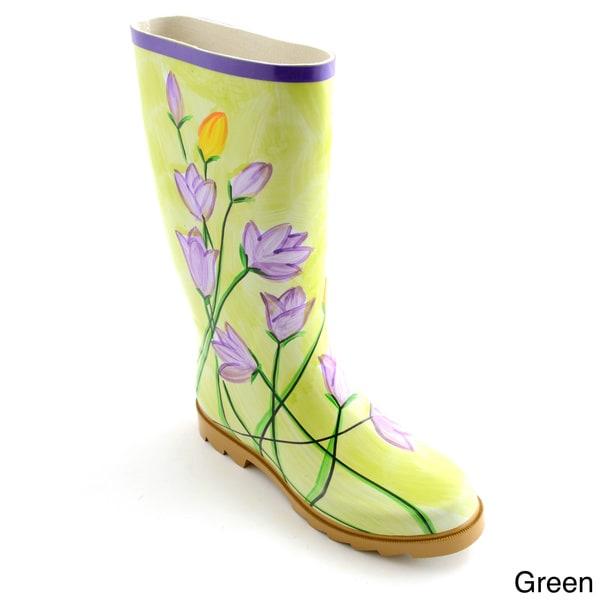 Corkys Women's 'Painted' Watercolor Print Rain Boots