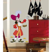 Jake & the Neverland Pirates Captain Hook Peel and Stick Giant Wall Decal