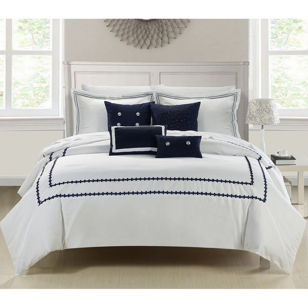 Reviews On Hotel Collection Bedding: Shop Mandalay 7-piece Embroidered Comforter Set