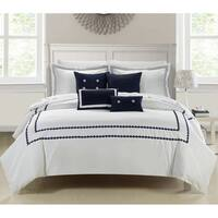 Mandalay 7-piece Embroidered Comforter Set