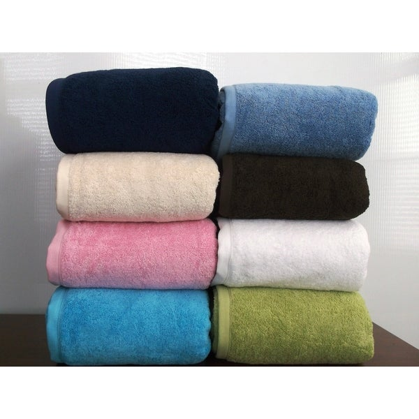 Royal Turkish Towel Cambridge Turkish Cotton Jumbo Bath Sheet - Spa Sheet Set. Opens flyout.
