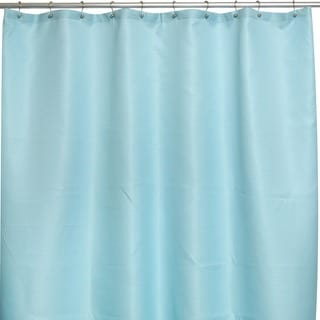 Soho Waffle Spa Blue Shower Curtain
